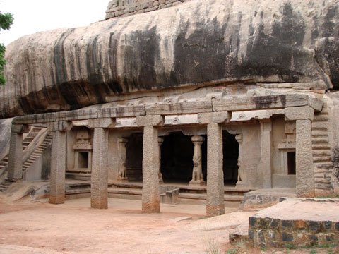 Rāmānuja Cave. Māmallapuram. Ca. 7th c.