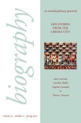 Biography, vol. 35, no. 2