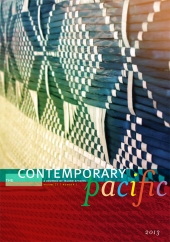 The Contemporary Pacific 25-1 cover