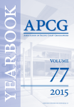 Yearbook Association of Pacific Coast Geographers 77
