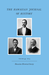 Hawaiian Journal of History 49