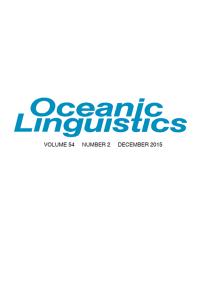 Oceanic Linguistics 54-2