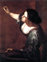 Self-Portrait as the Allegory of Painting (La Pittura), by Artemisia Gentileschi. Royal Collection Trust © Her Majesty Queen Elizabeth II, 2016.