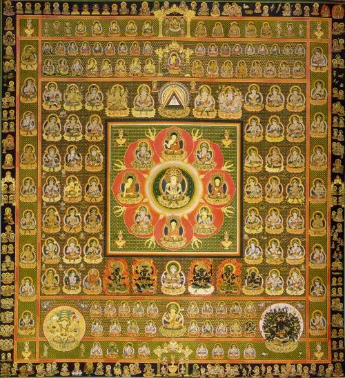 Mandala scroll